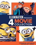 Despicable Me 1-4 Film collection DIGITAL HD