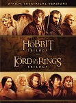 The Hobbit Trilogy and The Lord of the Rings Trilogy Middle Earth DIGITAL HD