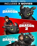 How to Train Your Dragon 1-3 Movie Collection DIGITAL HD