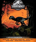 Jurassic World 5 Movie Collection DIGITAL HD