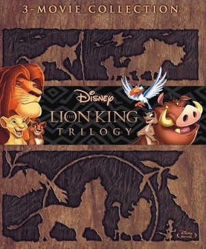 The Lion King Trilogy Collection DIGITAL HD